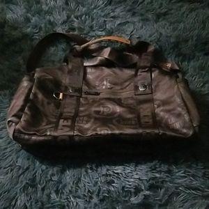 PINK VICTORIA'S SECRET DUFFLE BAG